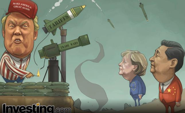 Trump Vergileri Küresel Ticaret Savaş Korgularını Alevlendiriyor