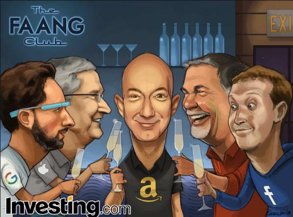 FAANG hisseleri piyasayı yükseltmeye devam eder