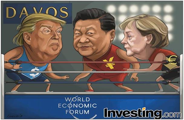 Trump Davos'a Gidiyor, Ticaret Kaygıları Yükseliyor